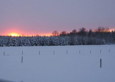 Notre terre l'hiver